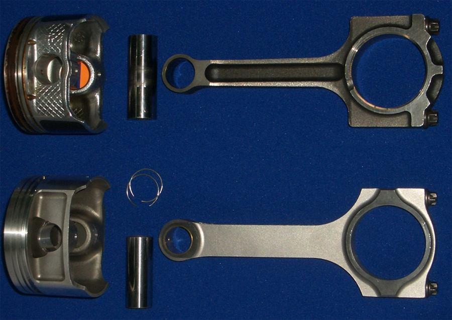 Форд фокус 2 1.8 замена поршневых колец